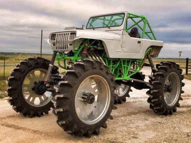 2000hp Farm Jeep
