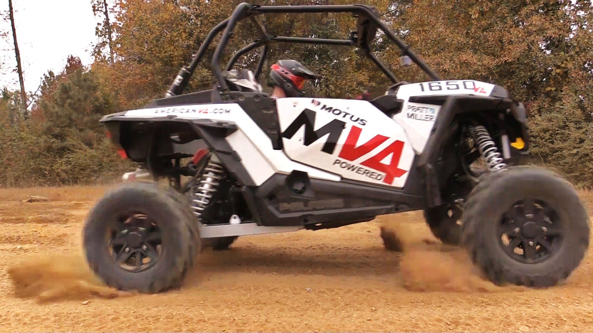 180hp Motus V4 Powered RZR XP 1650 - Busted Knuckle Films
