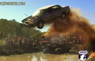 Redneck Car Jump Gone Wrong