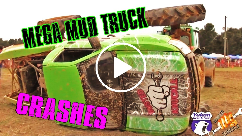 Mega Mud Truck Crashes Compilation