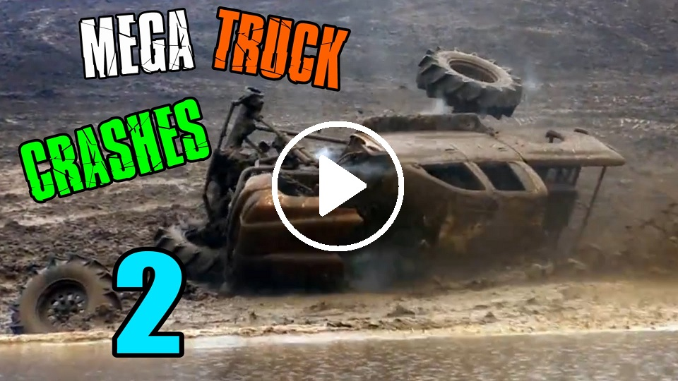 Mega Mud Truck Crashes Compilation 2