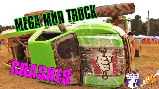 Mega Mud Truck Crashes Compilation