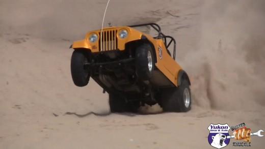 Bad Company Sand Drag Jeep
