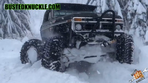 Ford Truggy 4 Wheel Steer Snownuts