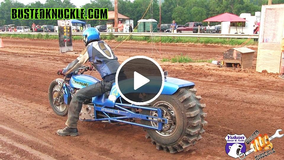 Dirt Drag Bike Racing