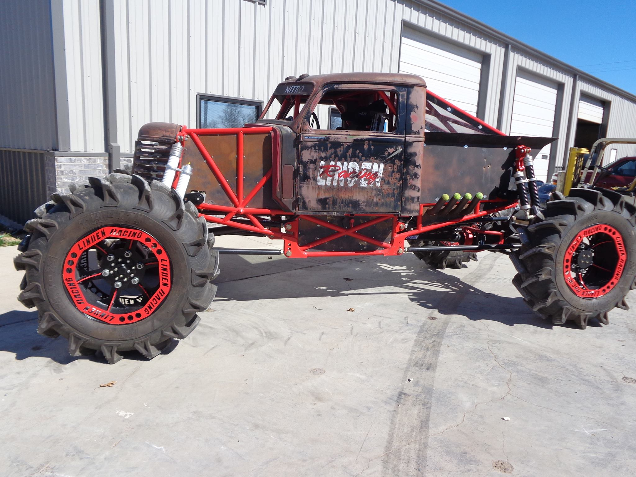 2100hp Mega Nitro Mud Truck Is A Beast