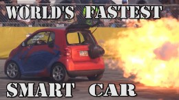 World's Fastest Smart Car – 1500hp