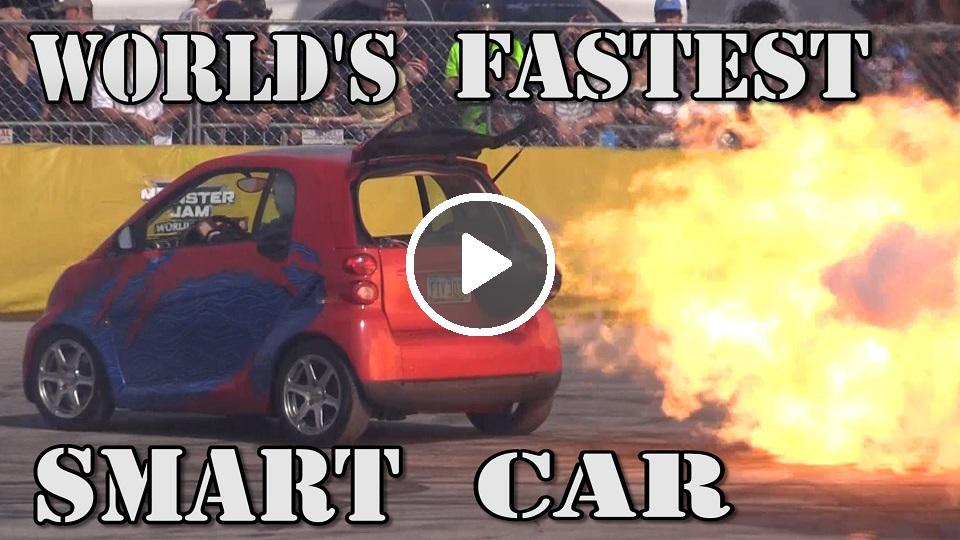 jet powered smart car
