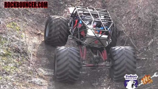 Monster Truck takes on Disney Bounty Hill
