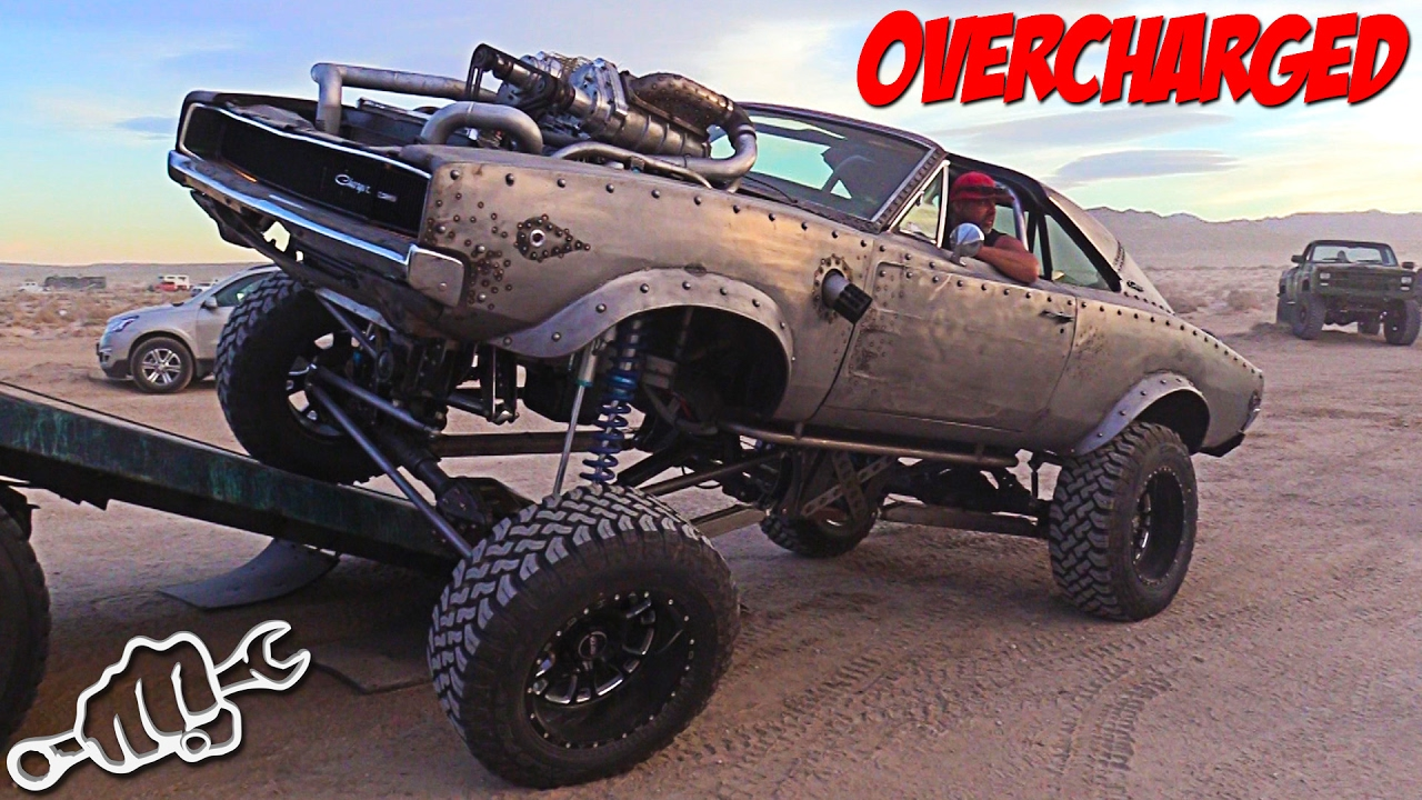 Welderup Overcharged Dodge Charger Rat Rod Busted