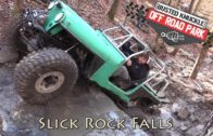 Slick Rock Falls at Busted Knuckle Off Road Park