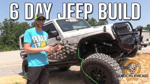 Busted Knuckle Jeep Build