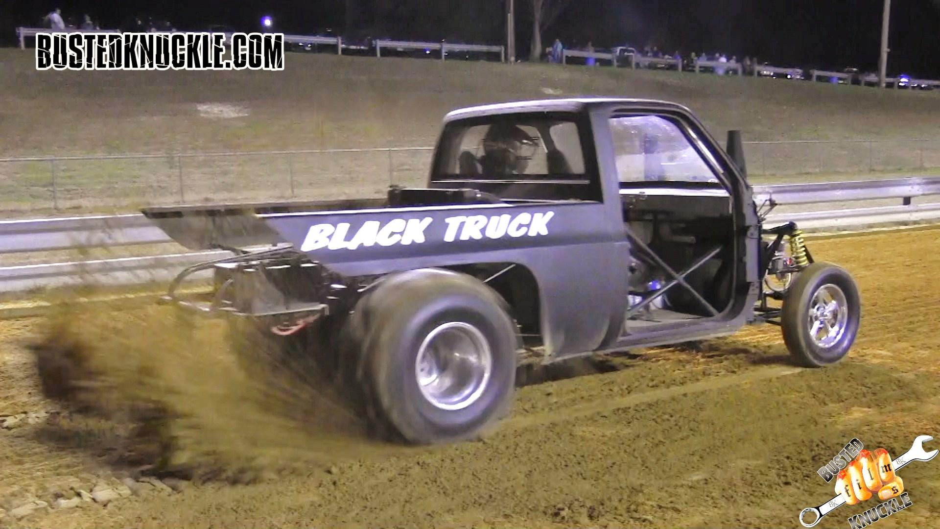 BLACK TRUCK - Newton Dragway