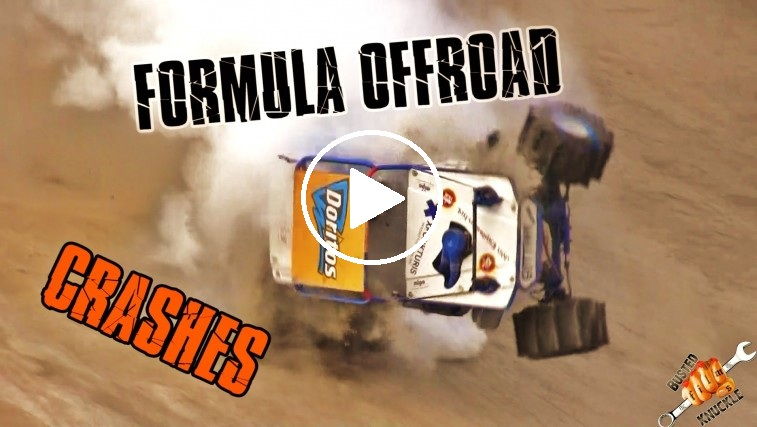 formula offroad crash compilation