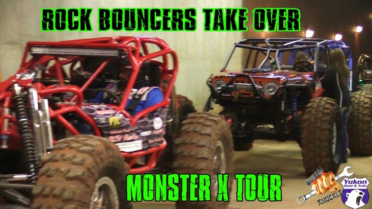 Rock Bouncers Invade Monster X Tour