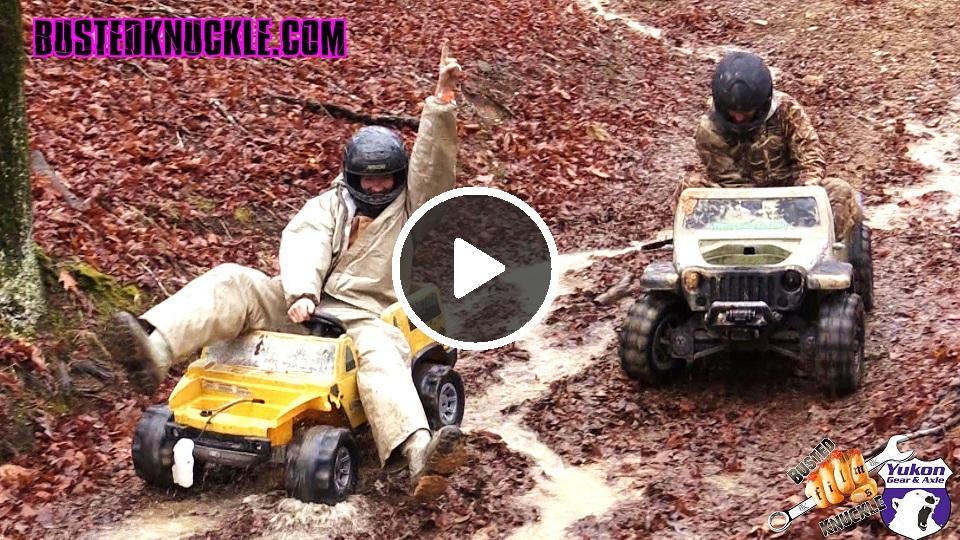 Downhill Barbie Jeep Racing 2015 Battlefest