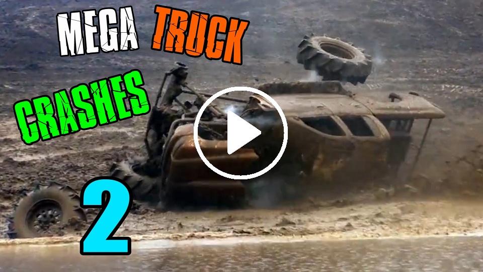 Mega Mud Truck Crashes Compilation 2