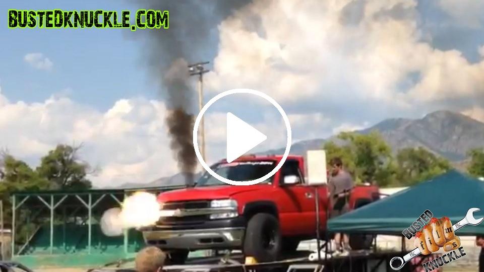 World Record Duramax Diesel Dyno Explosion