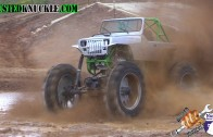 2000 HP FARM JEEP SKIMS THE POND