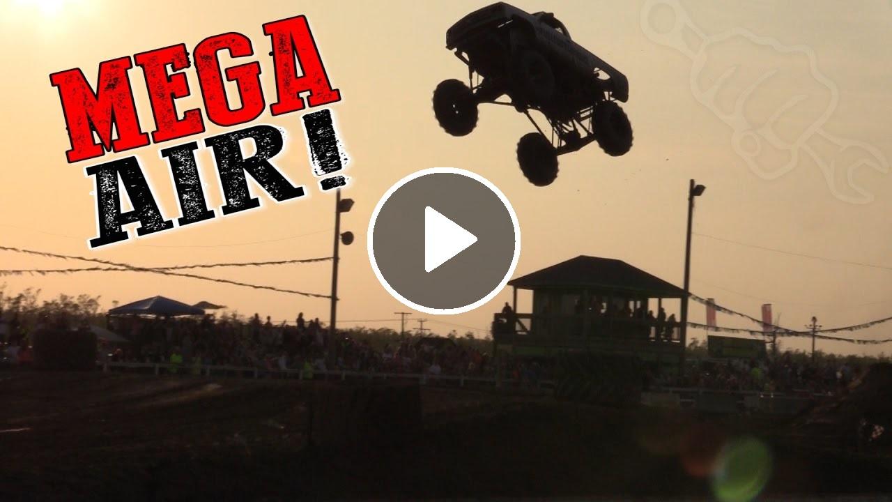 Biggest Mega Mud Truck Jumps Ever