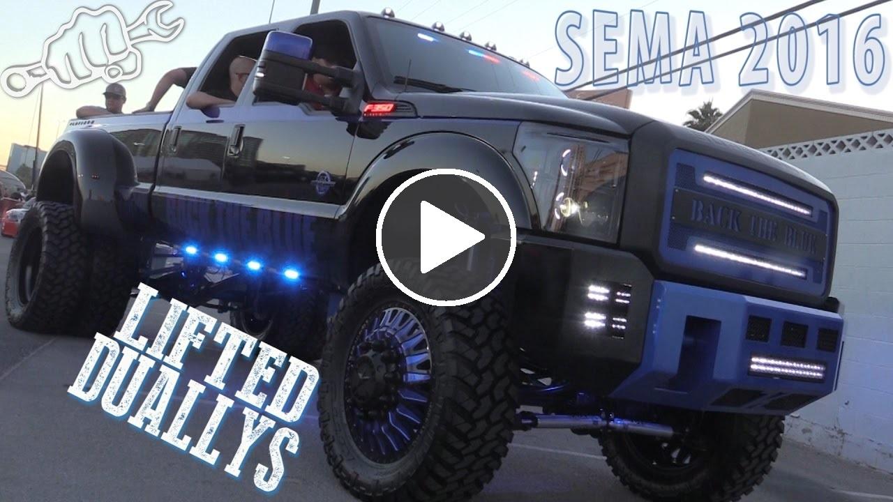 Lifted Dually Trucks